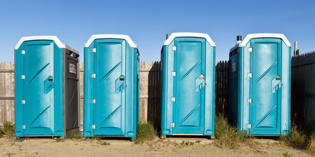 Aurora portable toilets