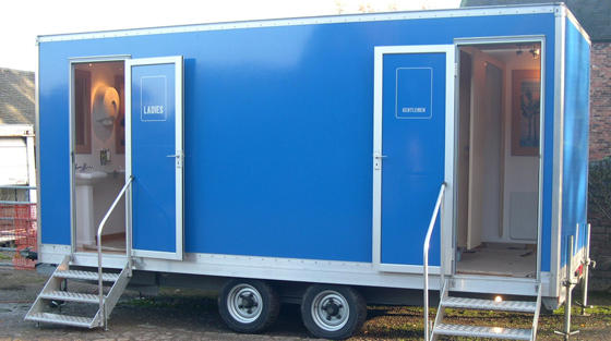 Long Beach restroom trailer